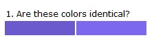 Color Picker Survey
